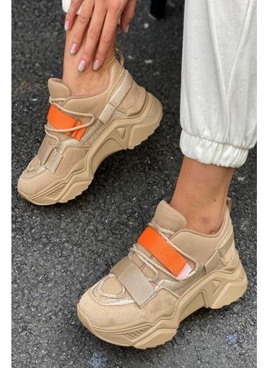İnan Ayakkabı CIRTLI SNEAKERS Ten